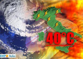 meteo con ondate di calore