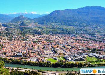 Il meteo su Trento