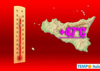 meteo sicilia caldo record