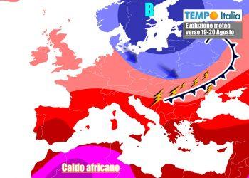 Meteo tornerà anticiclonico nella seconda parte della settimana sull'Italia