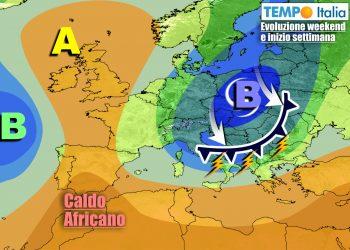 Ciclone freddo influenzerà l'Italia con meteo turbolento per qualche giorno