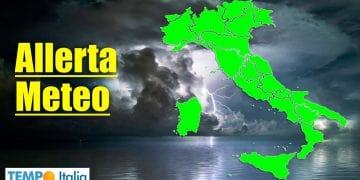 allerta meteo italia