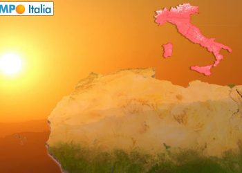 Atmosfera degna del deserto del Sahara