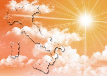 Spazio per l'estate settembrina sull'Italia