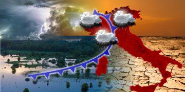Meteo tropicale con temporali e caldo
