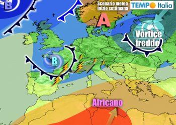 Italia tra anticiclone e nuove infiltrazioni instabili nella prossima settimana