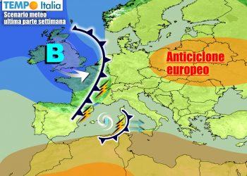 Le perturbazioni più organizzate autunnali si manterranno ancora lontane dall'Italia