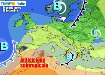 Italia divisa in due, tra maltempo al Sud e condizioni più stabili altrove